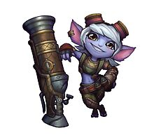 The New Tristana Yordle  by urgotv