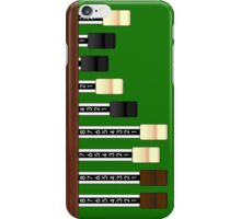 Drawbars iPhone Case/Skin
