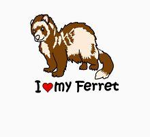 I Heart My Ferret Unisex T-Shirt