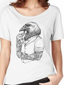 The Crow Man Women's Relaxed Fit T-Shirt