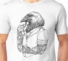The Crow Man Unisex T-Shirt