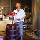 Alain ,Winemaker by patti haskins
