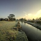 The Tiverton Canal  by Rob Hawkins
