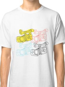 Primary Camera Grid Classic T-Shirt
