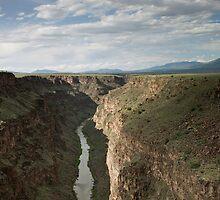 Rio Grande Gorge by Glennis  Siverson