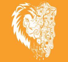 Psychedelly Lion by artbyjoeski