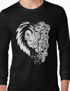 Psychedelly Lion Long Sleeve T-Shirt