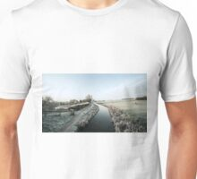 Winter at Ayshford  Unisex T-Shirt