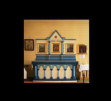 Blue Altar, St Killian's, Bendigo by Quarryhill