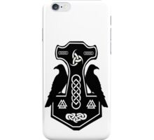 Pagan Thor's Hammer with Celtic Knots iPhone Case/Skin