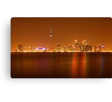 Downtown Toronto Canvas Print