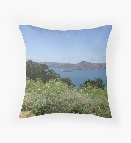 Headlands ,San Francisco Throw Pillow