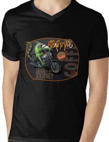 Hoguana Mens V-Neck T-Shirt