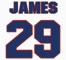 National baseball player James Loney jersey 29 T-Shirt