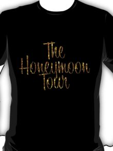 The Honeymoon Tour (Gold Dust Edition) T-Shirt