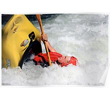 White Water Adventure Poster