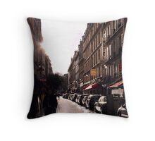 Rue Saint Severin Throw Pillow