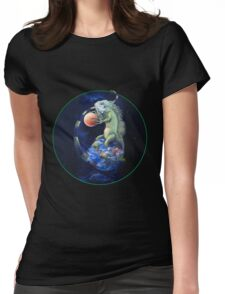 Daze of the Iguana Womens Fitted T-Shirt
