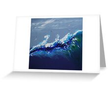 Out at Sea - Original SOLD Greeting Card