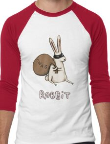 Robbit Men's Baseball ¾ T-Shirt