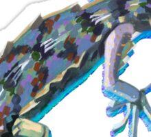 Jeweled Gecko Sticker
