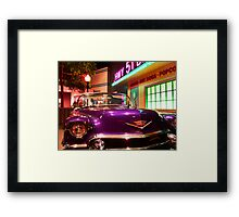 Elvis's pimp mobile in Cholo Framed Print