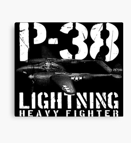 P-38 Lightning Canvas Print