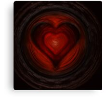 Heart n. 42 Canvas Print