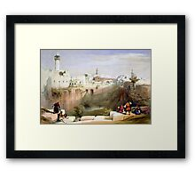 The Pools of Bethesda - Jerusalem Framed Print