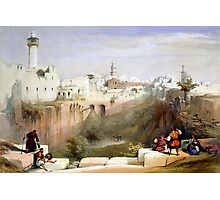 The Pools of Bethesda - Jerusalem Photographic Print