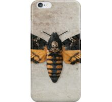 Death's-head Hawkmoth iPhone Case/Skin