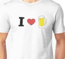 I love BEER Unisex T-Shirt