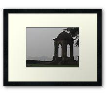 The Stone Pavilion Framed Print