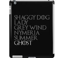 Direwolves iPad Case/Skin