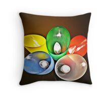 Colorful light: III  Throw Pillow