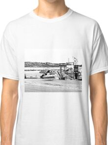 Island La Maddalena: sea landscape and boats Classic T-Shirt