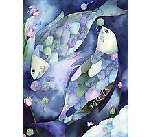 Pisces: Yarn Zodiac Photographic Print