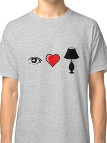 Eye Heart Lamp Classic T-Shirt