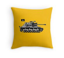 Rock Army Throw Pillow