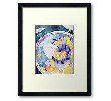 Aries: Yarn Zodiac Framed Print