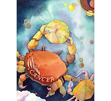 Cancer: Yarn Zodiac Photographic Print