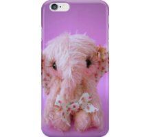Pinkie Elephant - Handmade bears from Teddy Bear Orphans iPhone Case/Skin