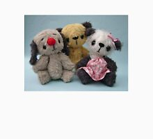 Soot, Sweepie and Soozie. Handmade bears from Teddy Bear Orphans Unisex T-Shirt