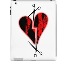 a broken heart iPad Case/Skin
