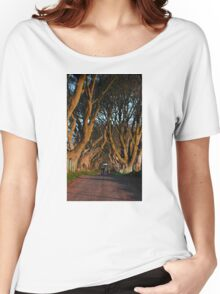Dark Hedges Overbearing Women's Relaxed Fit T-Shirt