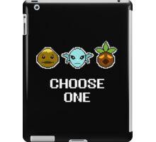 Choose One Mask iPad Case/Skin