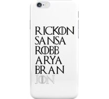 Starks iPhone Case/Skin