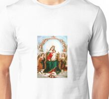 Angels and Mary Unisex T-Shirt