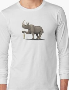 Cork it, Dürer! (Wordless) Long Sleeve T-Shirt