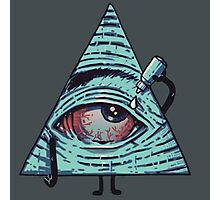 Illuminati are Baked Photographic Print